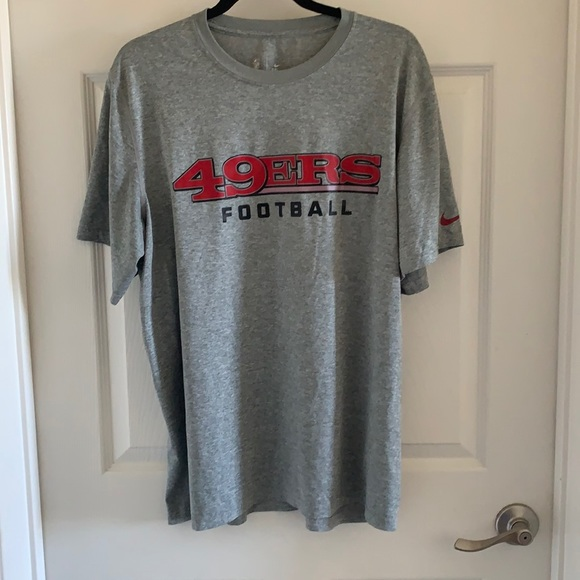 Nike San Francisco 49ers T-Shirt sz M